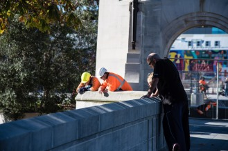 Construction can be found all over Christchurch as reparations from the earthquakes are still underway.